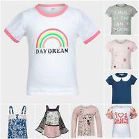 Girls Jumper Sweatshirt Cardigan Vest Top T-Shirt Tee Age 3 4 5 6 7 8 9 10 11 12
