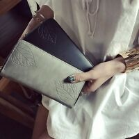 Fashion Women Lady Purse Embossed Long Wallet Phone Card Holder Zip Handbag