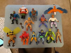 vintage he man masters of the universe figures