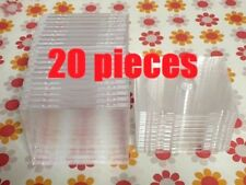 JEWEL CASES standard size 20 pieces set (with CLEAR Tray) Product of Japan