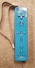 Nintendo Wii Remote with Motion Plus Inside Controller Blue