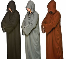 71324110ca Mens Halloween Hooded Robes Grim Reaper Scary Fancy Dress Accessory