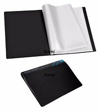 A4 DISPLAY BOOK 100 POCKETS 200 VIEW COLOUR FILE COVER PRESENTATION FOLDER -V100