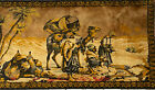 Vintage Beautiful Handmade/Handcrafted Tapestry/Rug- Praying Men/Camels (TPTN21)
