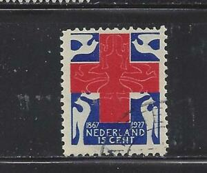 NETHERLANDS - B20 - USED - 1927 - RED CROSS AND DOVES