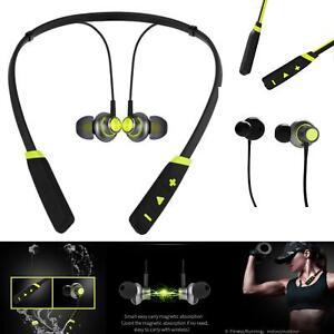 New Green Bluetooth Wireless Headphones Sport Mic For ZTE Phone Cases