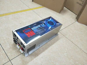 8000W LF SP PURE SINE WAVE POWER INVERTER DC12V/AC220V&110V Battery Charger/LCD