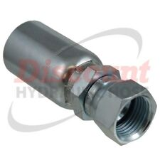 "FJX-06-06 (x20) 3/8"" Hose x #6 JIC 37° Female Swivel Hydraulic Hose Fittings"