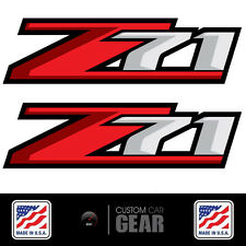 Z71 Decal Stickers Chevy 2007 2008 2009 2010 2011 2012 2013 SILVERADO Full Color