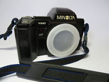 Minolta AF 7000 Historical World's First In Camera Auto Focus SLR Camera Body