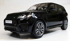 Kyosho 1/18 Range Rover Sport SVR Black / Chocolate RESIN REPLICA C09542BK