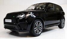 Kyosho 1/18 Range Rover Sport SVR Black / Chocolate RESIN REPLICA C09542BK