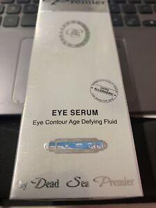 Premier Dead Sea Eye Serum * Age Defying Fluid 1.2 fl oz * NEW Sealed Israel