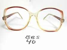 Vtg BOULEVARD BOUTIQUE Sun Eyeglass Frame MOB Roset Crystal Round (BBS-40)