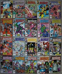 AVENGERS 1963-1996 Black Knight She-Hulk Yellowjacket KANG Ant-Man #261-280 VF