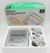 Nintendo Super Famicom Console Set with Box and Manual Japan Tested and Working