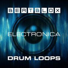 Beatblox Electronica Drum Loops Beats (24-Bit WAV) Ableton Logic Pro FL Studio