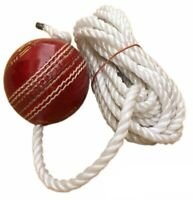 Tima Leather Cricket Shot Practice Hanging Ball String Multicolor UK