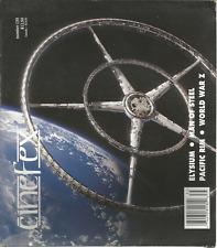 CINEFEX MAGAZINE #135  OCTOBER 2013, ELYSIUM/MAN OF STEEL/PACIFIC RIM