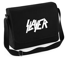 SLAYER - Canvass Tasche BESTICKT schwere Qualität