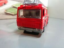 MATCHBOX 2006 FIRE ENGINE AERIAL LADDER TRUCK , RED,    1/96    SCALE  5-2-17
