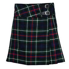 """Mackenzie Ladies Knee Length Kilt Skirt 20"""" Length Tartan Pleated Kilts"""