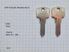 DAF 44,55,66 Marathon  1 ORIGINAL Schlüssel Rohling YMOS CASI für OLDTIMER 913