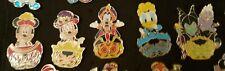 5 Pin's Disney PRICE HALLOWEEN MICKEY MINNIE DINGO DONALD URSULA MALEFIQUE