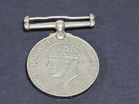 World War 2 Medal GEORGIVS VI D:G:BR:OMN:REX ET INDIAE IMP 1939-1945 Collectible
