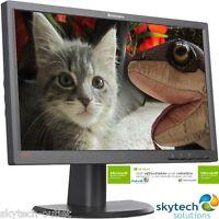 "19"" inch Widescreen Monitor Flat Panel LCD HD Lenovo HP LG Various 16:10 Grade A"