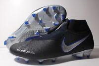 Nike Phantom Vision VSN Elite DF FG Boot Blue Black AO3262-005 Men's Size 11.5
