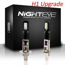 NIGHTEYE 160W H1 LED Fog Light Bulbs Car Driving Lamp Replacement 6500K White