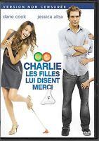 DVD ZONE 2--CHARLIE LES FILLES LUI DISENT MERCI / VERSION NON CENSUREE-COOK/ALBA