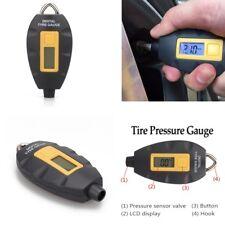 LED Digital Tire Pressure Meter Gauge For Vehicle Motorcycle Car PSI/KPA/BAR