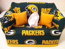 NFL Green Bay Packers Tissue Box Cover Handmade