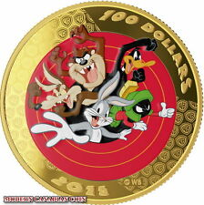 2015 CANADA GOLD COIN 14KT LOONEY TUNES AND A POCKET WATCH! **NEW PRICE**