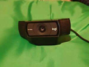 USED!!! Logitech C920 HD Pro Webcam, Full HD 1080p/30fps - Black