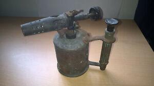 Max Sievert [ Sweden ] Vintage Brass Paraffin Blow Lamp Torch type 223