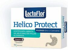 Lactoflor Helico Protect Probiotic with PYLOPASS counteracts the H. Pylori TRACK