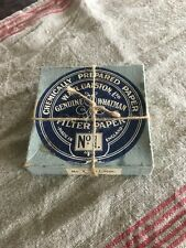 Early/Vintage 2 boxes Genuine W & R Balston Ltd. Filter paper made in England