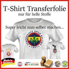 1 Bl. T-Shirt Folie Transferfolie Textfolie nur für helle Stoffe A4