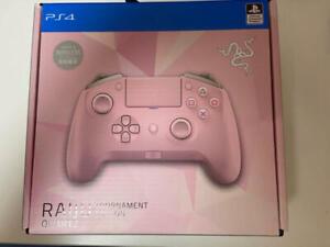 Razer Raiju Tournament Edition Quartz Pink Controller for PS4/PC USED japan