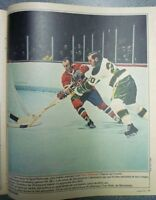 1970 Le Soleil Perspectives Full Magazines Lot of 14 NHL Players Printed Photos