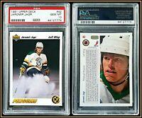 1991 Upper Deck #42 Jaromir Jagr PSA 10 Gem Mint Card Penguins NHL Hockey HOF