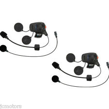 Sena SMH5-FM Bluetooth Headset & Intercom Dual Pack Boom/Wired Mic SMH5D-FM-UNIV