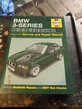 BMW 3-Series 4-CYL 1991-1996/6-CYL 1991-1995(Petrol) Haynes Service Manual