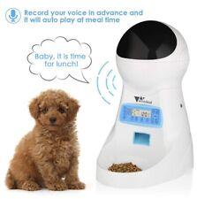 Automatic Cat / Small Dog Feeder Pet Feeder Food Dispenser *Amzdeal*