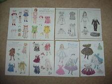 New ListingLot Vintage Pat Stall Paper Dolls