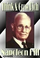 Think and Grow Rich Law of Success Napoleon Hill Ebooks and Audio on CD ROM disc