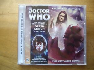 Doctor Who Death Match, 2015 Big Finish audio book CD